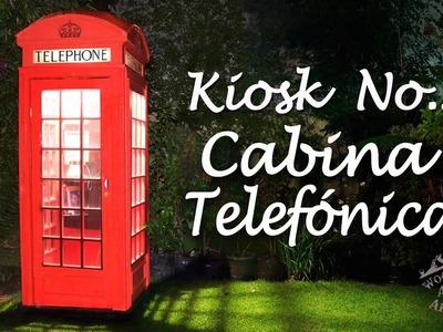 Cabina Telefónica K2 Hecha de Madera - Ep 031