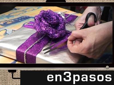 Cómo envolver un regalo de Navidad