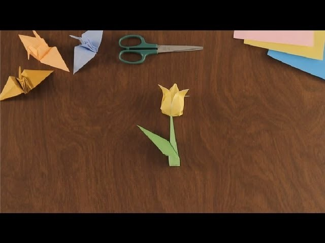 Como Hacer un Flor en Origami: Parte 2 : Figuras Basicas en Origami