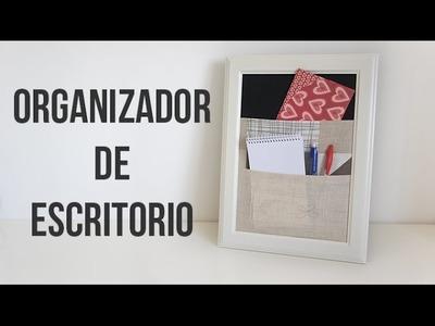 Cómo hacer un organizador de escritorio fácil