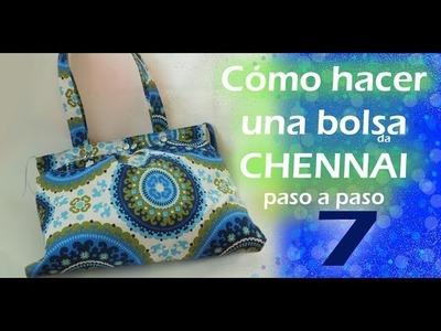 Cómo hacer una bolsa de tela. CHENNAI. a paso a paso. TUTORIAL. parte 7. Inerya viris