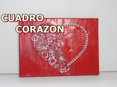 Cuadro Corazon - TABLE HEART