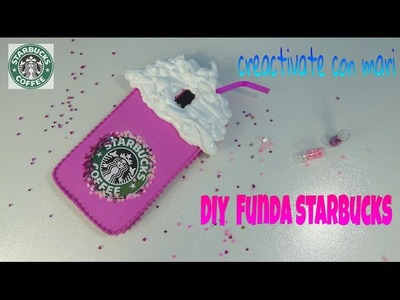 Diy Funda de móvil Starbucks con foamy y silicona