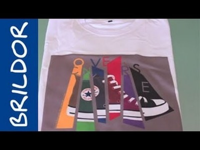 El sistema Chromablast para camisetas claras de algodón