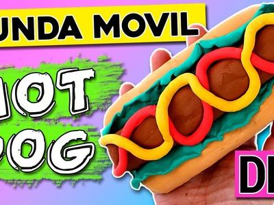 FUNDA casera para celular HOT DOG * FUNDAS hechas a mano