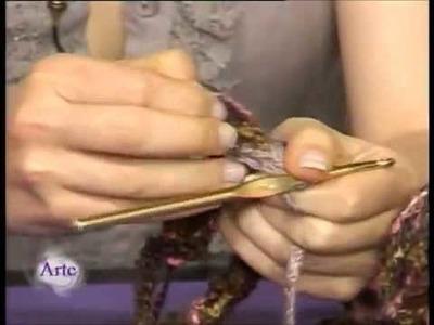 Hilados LHO en ARTEZ TV. Cómo tejer un poncho.