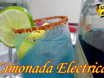 """Limonada Eléctrica """"paso a paso"""" (TOQUE Y SAZÓN) cocteles para Bar"""