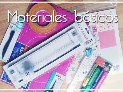 MATERIALES PARA EMPEZAR EN EL SCRAPBOOKING