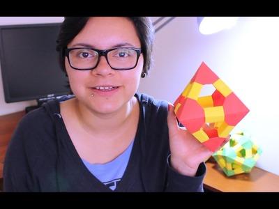 Origami Octahedron. Octaedro De Origami ¡TUTORIAL!