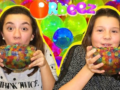 Retos con Orbeez, canicas de agua o bolitas de gel. Orbeez Challenge