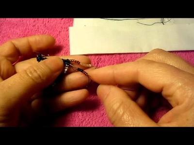 Brick stitch los aretes muy diffisiles de hacer pero bellisimos que no#2