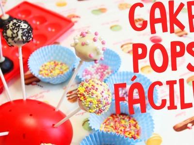 Cómo hacer cake pops