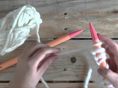 ¿Cómo montar puntos al borde? KNIT IT YOURSELF
