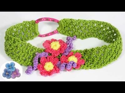Diademas Tejidas a Crochet Vinchas y Cintillos Diademas de flores Manualidades Fáciles Pintura Facil