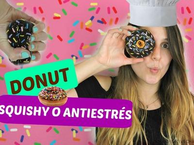 DIY donut squishy o antiestrés - DIY donut squishy or stress ball