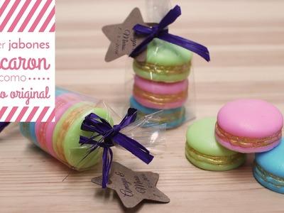 Hacer Jabones Macaron como regalo original