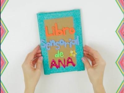 Libro Sensorial Casero para niños paso a paso I Naran Xadul