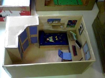 Maquetas de habitaciones de 6º E.P. Colegio Escuelas Pias Zaragoza 4.6.2011