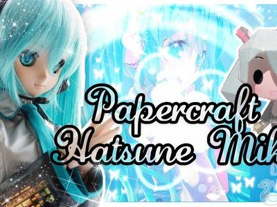 Papercraft Hatsune Miku♥