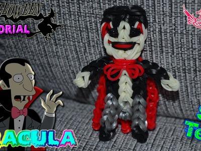 ♥ Tutorial Halloween: Dracula de gomitas (sin telar) ♥