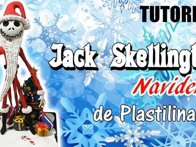 Tutorial Jack Skellington (Navideño) de Plastilina
