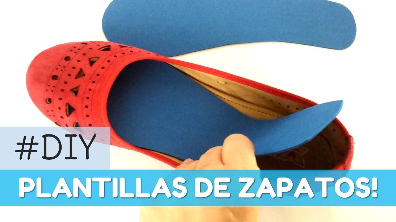 Cómo hacer plantillas para los zapatos   facilisimo.com