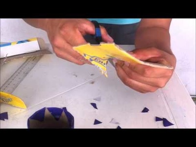 Como hacer un portalápices de forma fácil | manualidades | HD