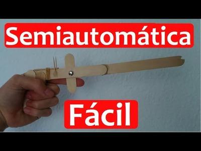 Cómo Hacer Una Pistola De Gomas Semiautomática