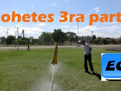 Como medir la altura alcanzada por cohete de agua Water rocket