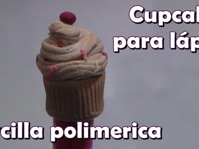 Cupcake para lápiz