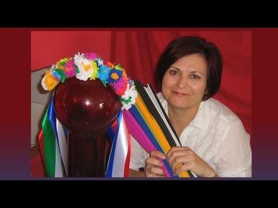 DIY: Corona de flores para la cabeza