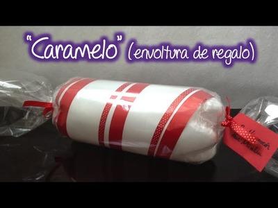 Envoltura de regalo Caramelo