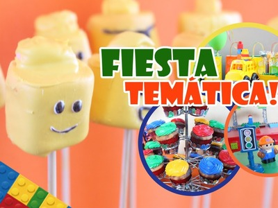 Fiesta temática LEGO | LEGO Birthday Party