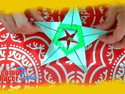 Origami: Cómo hacer una estrella de papel