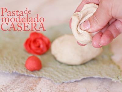 Pasta para modelar casera - Receta porcelana fria arcilla polimérica en casa