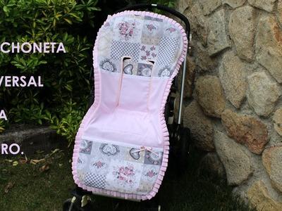 Colchoneta universal para carrito de bebé.
