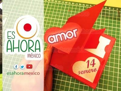 COMO HACER CARTA PARA EL 14 DE FEBRERO POP UP #8
