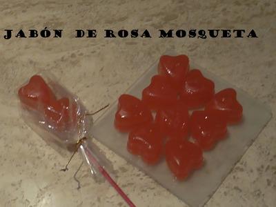 Cómo hacer jabón de Rosa Mosqueta