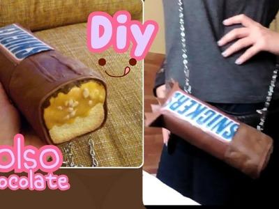 Diy Bolso ❤de snickers
