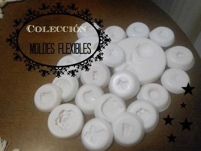 Mi colección de moldes para fimo