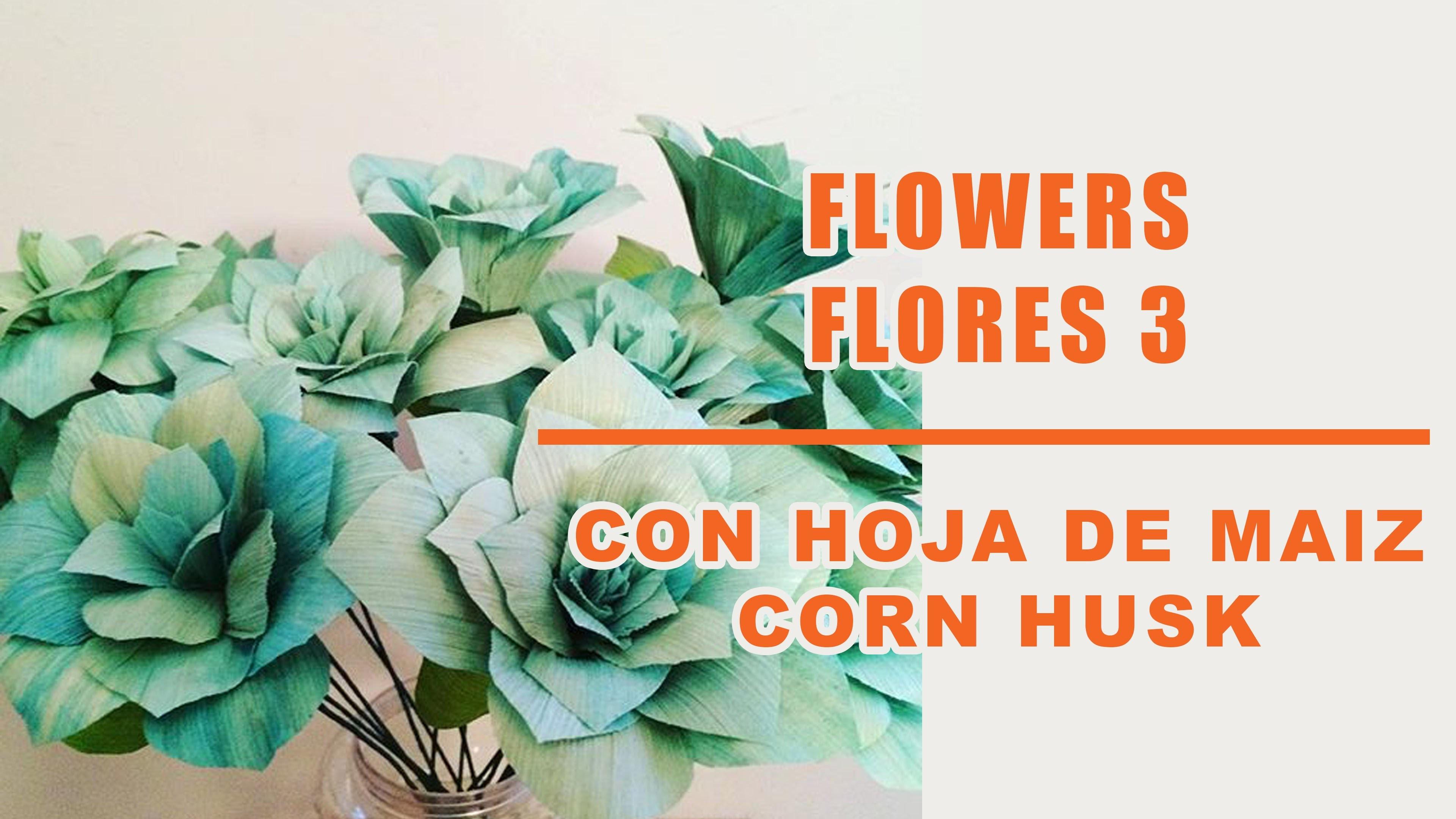 Muñecas y flores de hoja de maiz 3.Corn husk dolls & flowers. hojas de totomoxtle