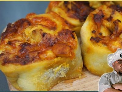 Pizza rolls (rulos de pizza) con @TDCSH - Desafío de ingredientes