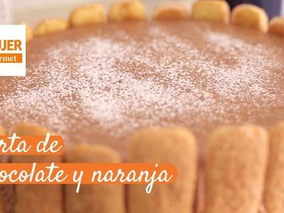 Torta de chocolate y naranja | @RecetasiMujer