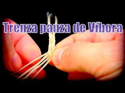 """Trenza panza de víbora (9 Cabos)""""El Rincón del Soguero"""""""