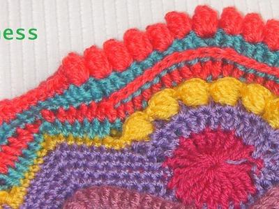 Tutorial Crochet Mandala Madness 4, paso a paso en español