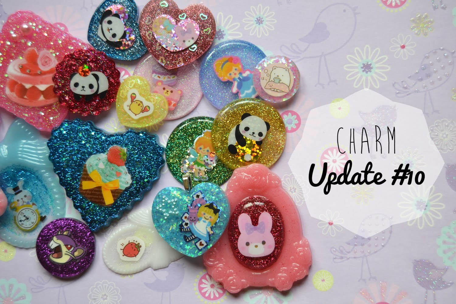Charm Update #10 ~ Accesorios hechos a mano ☆