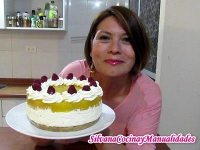 CHEESECAKE DE MANGO SIN HORNO!!! - Silvana Cocina y Manualidades