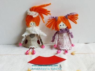 Como hacer el patrón del broche muñeca