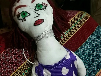 Como hacer una muñeca de Trapo que habla cuando la presionas