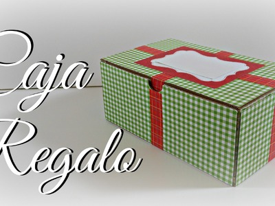 Decorando una Caja Reciclada | Regalos | Mundo@Party